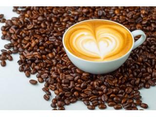 Зерновой кофе для латте