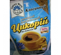 Chicory world цикорій класичний кофейный напиток 100g