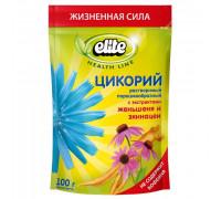 Elite цикорий с экстрактами женьшеня и эхинацеикофейный напиток 100g