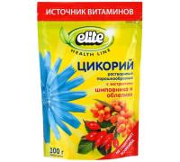 Elite цикорий с экстрактами шиповника и облепихикофейный напиток 100g
