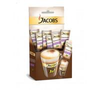Jacobs 3 в 1 cappuccino кофейный напиток 12,5gx21