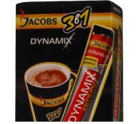 Jacobs 3 в 1 dynamix кофейный напиток 13gx21