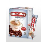 Maccoffee 2 в 1 без сахара кофейный напиток 12gx10