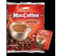 Maccoffee 3 в 1 strong кофейный напиток 18gx25