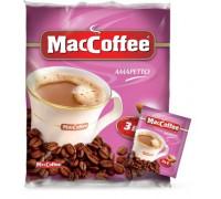 Maccoffee 3 в 1 амаретто кофейный напиток 18gx10