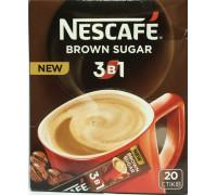 Nescafe 3 в 1 brown sugar кофейный напиток 16gx20