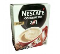 Nescafe 3 в 1 coconut mix кофейный напиток 16gx20