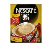 Nescafe 3 в 1 creamy кофейный напиток 16gx20