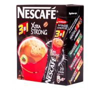 Nescafe 3 в 1 xtra strong кофейный напиток 16gx20